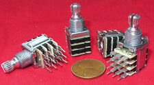 4 x  KIE 20K OHM Quad Ganged Linear Taper Pot B20K 4 Gang Potentiometer CAR12 BF