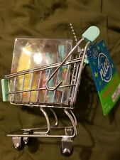 NwTmini Shopping Cart Supermarket buggy Mini grocery cart with candy