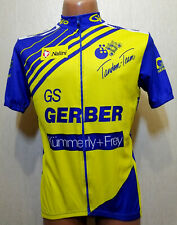 RARE MEN'S BERGER NALINI ITALY BICYCLE CYCLING SHIRT JERSEY MAGLIA OLD SIZE XL