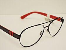 Authentic Ralph Lauren PH3098 9230/81 Matte Black Red Sunglasses Frame $249**
