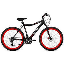 "Men's 26"" Kent Hardtail Red & Black Mountain Bike Aluminium 21-speed Shimano New"