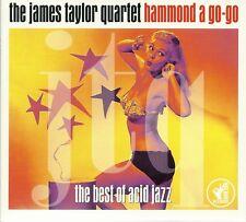 THE JAMES TAYLOR QUARTET HAMMOND A GO-GO - 2 CD BOX SET - THE BEST OF ACID JAZZ