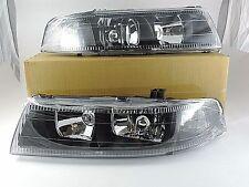 Mitsubishi Lancer / Evolution Evo V VI 5 6 Black HeadLight 1998 1999 2000 2001