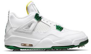 Air Jordan 4 Golf Metallic Green CZ2439-100 - Size 11 NEW IN HAND