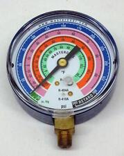 Mastercool 57501 Hvac Refrigeration Manifold Low Side Gauge R410a R404a R22