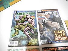 Set of 5 marvel comics ironman,thor,archala,locke key,swamr thing---normal use