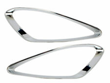 Chrome Fog Light Trim ABS For Mercedes Benz S Class W221 Prefacelift 05-09