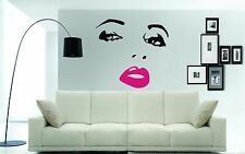 GIANT SEXY FACE Wall Art Sticker, Decal - now available in 3 x different sizes