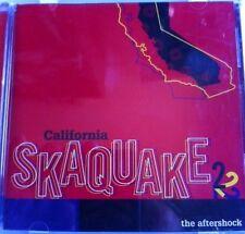 VARIOUS ARTISTS - CALIFORNIA SKAQUAKE VOL 2 - SKA 2TONE PUNK REGGAE CD