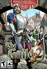 THE GUILD 2 (PC GAME) ***with MANUAL AND CASE W/KEY IN *FRENCH*--EN FRANCAIS