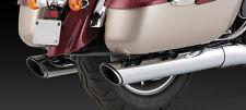 KAWASAKI VN 1700 CLASSIC TOURER / NOMAD Twin Slash Exhausts: VANCE & HINES 18371