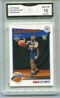 2019 Zion Williamson Hoops Tribute Rookie Gem Mint 10 #296