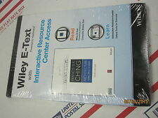 New Sealed Architecture: Form Space Order Edition Wiley E-Text Card Access Card