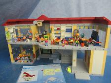 4324 Schule Schulhaus Einrichtung viele Figuren Playmobil 8470