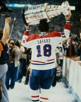 Serge Savard Montreal Canadiens UNSIGNED 8x10 Photo