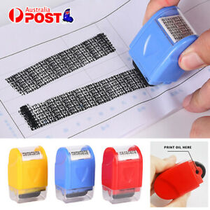 ID Theft Protection Stamp Roller Easy Guard Your Data Privacy Identity Security