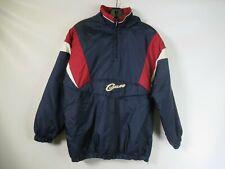 H0276 ADIDAS Men's Cleveland Cavaliers NBA Insulated Windbreaker Jacket Size XL