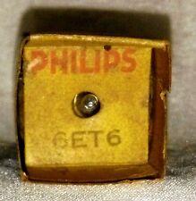NOS 6ET6 (EF98) vacuum tube radio TV valve, TESTED
