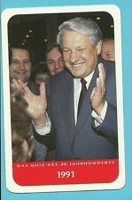 Boris Yeltsin Cool Collector Card Europe President of the Russian Federation