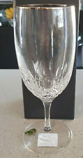 Waterford LISMORE ESSENCE GOLD White Wine Glass NEW IN BOX