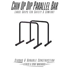 Crossfit Parallette Bar DIP up Parallel Fitness Strength Training Equipment