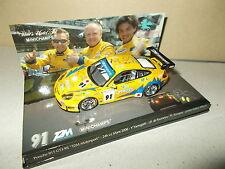 MINICHAMPS Porsche 911 GT3 RS T2M Motorsport Le Mans 2006 échelle 1/43 en boite