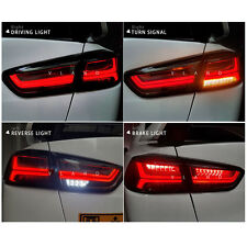 VLAND LED Tail Lights 08-17 Mitsubishi Lancer / Evo X Rear lamps Assembly Somked