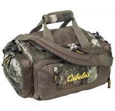 New CABELA'S Catch-All Gear Bag 02 Octane Camo Hunting Fishing Range Duffle
