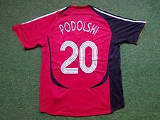 Deutschland Trikot XL 2006 Adidas DFB Football Shirt Germany Jersey PODOLSKI