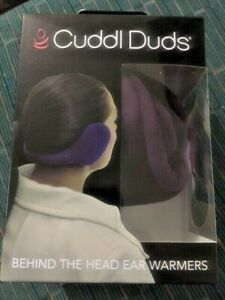 CUDDL DUDS One Size 20506 Blackberry Purple Behind The Head Ear Warmers NIB
