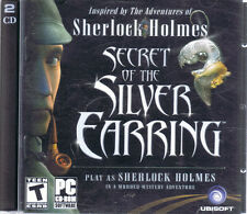 Sherlock Holmes: Secret of the Silver Earring (PC, 2004, Frogwares, 2-Disc)