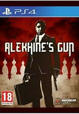 Alekhine's Gun PS4 PlayStation 4 Video Game UK Release Brand New