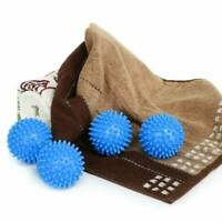 Laundry Washer Dryer Balls Reusable Fabric Softener Anti-Winding Bathroom Tools
