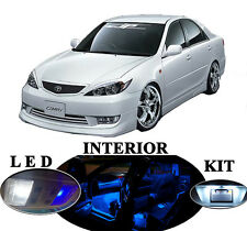 LED for Toyota Camry Blue LED interior+License plate+Vanity+Reverse (14 pcs)