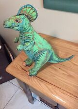 Vintage 1992 Applause Inc. Stuffed Green Hadrosaurus Dinosaur 21� Plush Toy