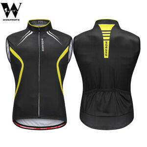Mens Cycling Vest MTB Road Bike Sleeveless Jersey Bicycle Outdoor Sports Gilet