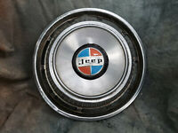 """1 OEM 60-80's JEEP 15"""" Wheelcover 4X4"""