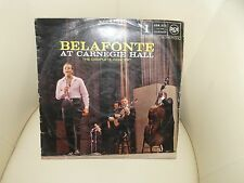 DISQUE 33 T BELAFONTE AT CARNEGIE HALL