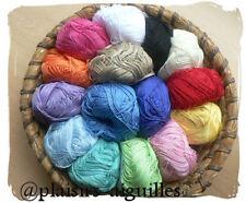 PELOTE DE COTON ESTEREL divers coloris vendue à l'unité