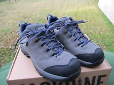 Duluth Trading  Men's Jackpine Trekking Shoes  -size-  12 M  Smokey Grey