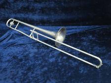 Yamaha YSL-352S Silver Trombone Ser#018337A Plays Well will Need Minor Adjust