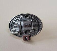 Roadway 6 Year Safety Award Pin