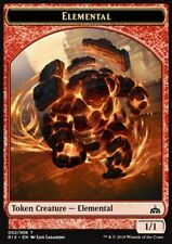 MRM FRENCH 4x Token - Jeton Elemental - Élémental 1/1 MTG magic RIX