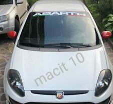 fascia parasole abarth adesivo parabrezza 500 punto,evo auto tuning rally sport