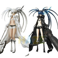 """BLACK ROCK SHOOTER White Rock Shooter PVC Action Figure Model Movable 12"""" Toy"""