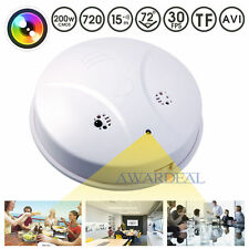 Smoke Detector Lens HD SPY Hidden Camera Wireless Camera Nanny Video Recorder
