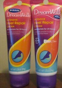 2x Dr. Scholl's Heel Repair Cream Dreamwalk Dream Walk Intensive 3.5 oz