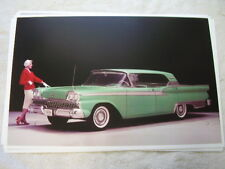 1959 FORD FAIRLANE 4DR HARDTOP  IN COLOR  11 X 17  PHOTO  PICTURE