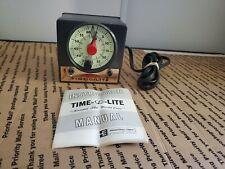 Vintage Time-O-Lite Industrial Machine Age Professional Darkroom Timer P-72 F2