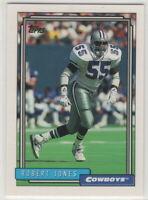 1992 Topps Football Dallas Cowboys Team Set Series 1 2 & High # Troy Aikman